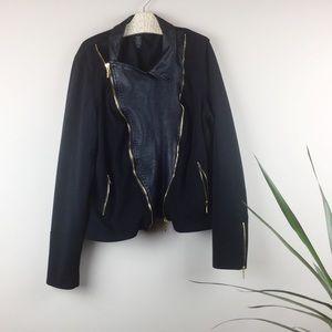 Lane Bryant Women's Jacket Zip-up Lined Size 16